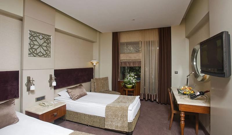 Kervansaray termal hotel standart oda